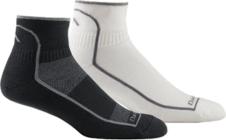 Men's Darn Tough 1-Pair 1/4 Cushioned Coolmax Sock (U.S.A.) 1711