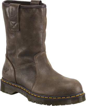 Men's Dr. Martens Steel Toe Wellington Rigger Work Boot R15229201