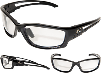 Edge Kazbek Asian-Fit Non-Polarized Safety Glasses SK111-AFT