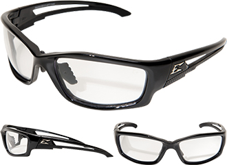 Edge Kazbek Asian-Fit Anti-Fog Safety Glasses SK111VS-AFT