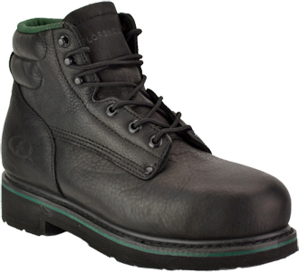 "Men's Florsheim 6"" Steel Toe Work Boot FE675"