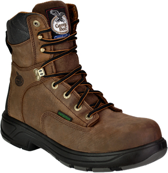"Men's Georgia Boot 8"" Composite Toe WP Work Boot G9644"