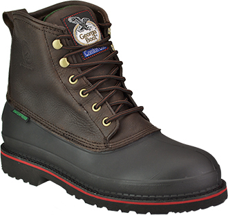"Men's Georgia Boot 6"" Steel Toe WP Work Boot G6633"