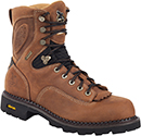 "Men's Georgia Boot 8"" Composite Toe WP Low Heel Logger Work Boot G026"