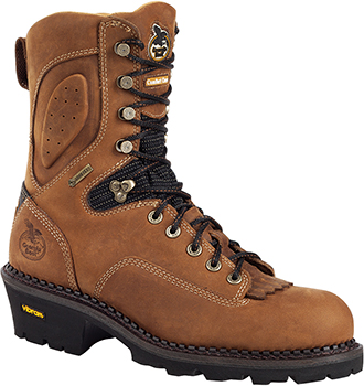 "Men's Georgia Boot 9"" Composite Toe WP/Insulated Logger Work Boot G032"