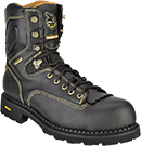 "Men's Georgia Boot 9"" Composite Toe WP Low Heel Logger Work Boot G029"