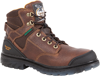 "Men's Georgia Boot 6"" Steel Toe WP Work Boot G086"