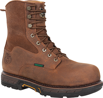 "Men's Georgia Boot 8"" Composite Toe Work Boot GBOT019"