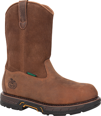 "Men's Georgia Boot 11"" Composite Toe WP Wellington Work Boot GBOT021"