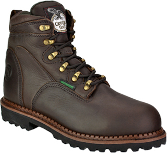"Men's Georgia Boot 6"" Steel Toe WP Work Boot G6303"