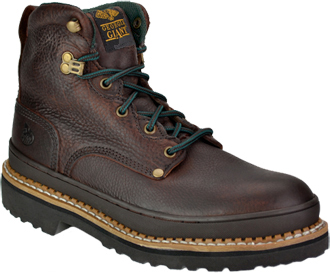 "Men's Georgia Boot 6"" Steel Toe Work Boot G6374"