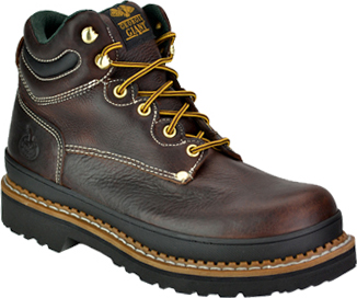 "Men's Georgia Boot 6"" Steel Toe Work Boot G6375"