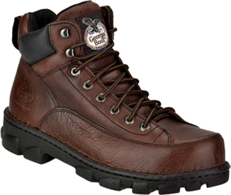 "Men's Georgia Boot 6"" Steel Toe Work Boot G6395"