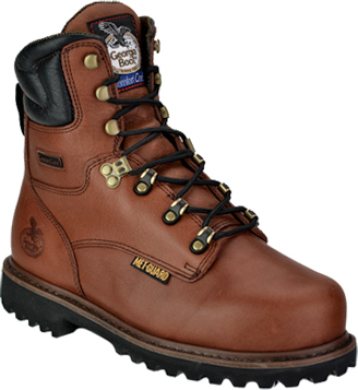 "Men's Georgia Boot 8"" Steel Toe Metguard Work Boot G8315"