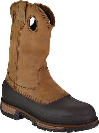 "Men's Georgia Boot 11"" Steel Toe WP Wellington Work Boot G5594"