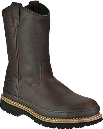 "Men's Georgia Boot 9"" Steel Toe Work Boot G4374"