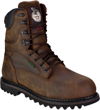 "Men's Georgia Boot 8"" Steel Toe WP/Insulated Work Boot G8362"