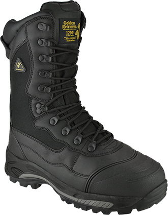 "Men's Golden Retriever 10"" Composite Toe WP/Insulated Work Boot 5265"