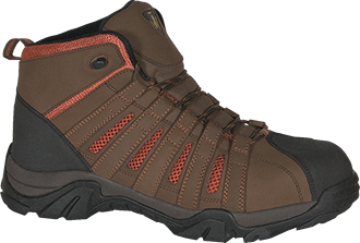 Men's Golden Retriever Steel Toe Hiker Work Boot 7306