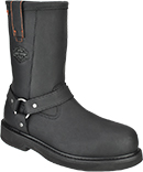 Men's Steel Toe Side-Zipper Boots