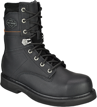 "Men's Harley Davidson 9"" Steel Toe Work Boot D95327"