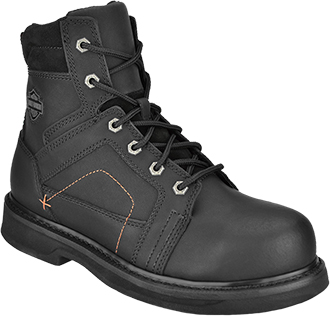 "Men's Harley Davidson 7.5"" Steel Toe Side-Zipper Work Boot D95326"