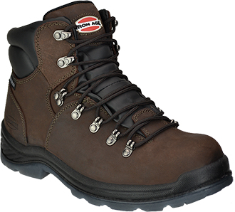 "Men's Iron Age 6"" Composite Toe Waterproof Hiker Work Boot IA0162"