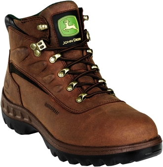 "Men's John Deere 6"" Steel Toe WP Work Boot JD3604"