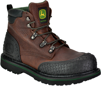 "Men's John Deere 6"" Steel Toe Work Boot JD6343"