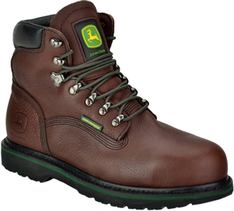 "Men's John Deere 6"" Steel Toe WP Work Boot JD6383"