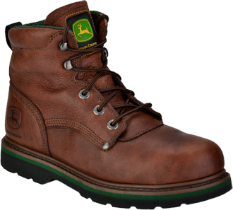"Men's John Deere 6"" Steel Toe Work Boot JD6393"