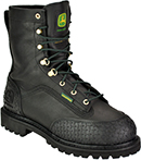 "Men's John Deere 9"" Steel Toe Metguard Miner WP/Insulated Work Boot JD9350"