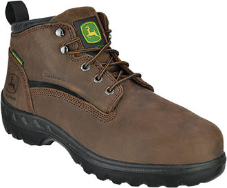 "Men's John Deere 6"" Steel Toe WP Metguard Hiker Work Boot JD6601"