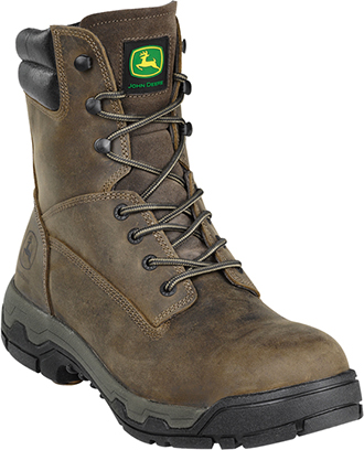 "Men's John Deere 8"" Steel Toe Work Boot JD8616"
