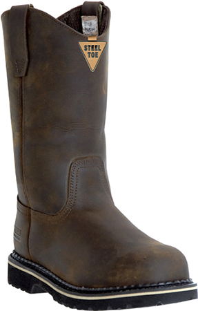 "Men's McRae Industrial 11"" Steel Toe Wellington Work Boot MR85344"