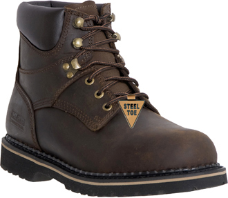 "Men's McRae Industrial 6"" Steel Toe Work Boot MR86344"