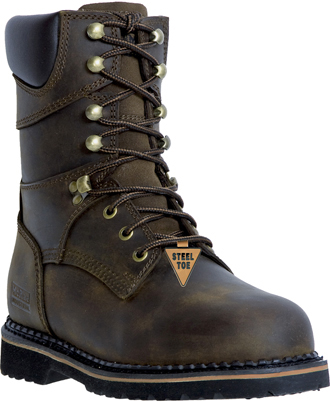 "Men's McRae Industrial 8"" Steel Toe Work Boot MR88344"