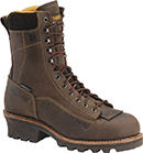 "Mens Carolina 8"" Composite Toe WP Logger Work Boot CA7522"