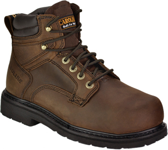 "Men's Carolina 6"" Steel Toe Metguard Work Boot CA9599"