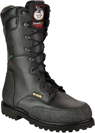 "Men's Georgia Boot 12"" Steel Toe Metguard Miner WP/Insulated Work Boot G9330"