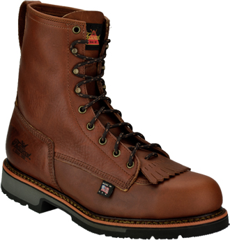"Men's Thorogood 8"" Steel Toe Work Boot (U.S.A.) 804-4821"