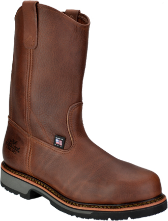 "Men's Thorogood 10"" Steel Toe Wellington Work Boot (U.S.A.) 804-4822"