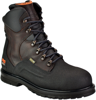 "Men's Timberland 8"" Steel Toe WP Work Boot 53539"