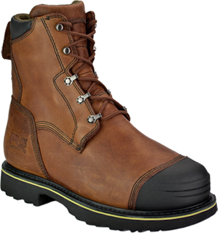 "Men's Timberland 10"" Alloy Toe Metguard Smelter's Boot 99524"