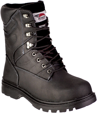 "Men's Avenger 8"" Steel Toe Metguard Work Boot 7310"