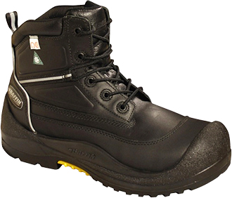 "Men's Baffin 6"" Composite Toe Insulated Metal Free Work Boot IREB-MP05-BK1"