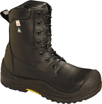 "Men's Baffin 8"" Composite Toe Insulated Metal Free Work Boot IREB-MP01-BK1"