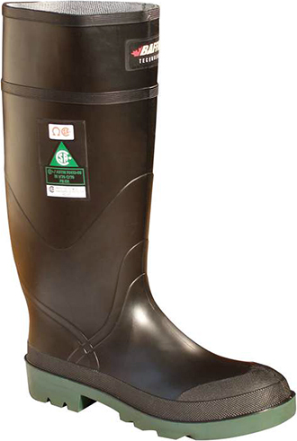 "Men's Baffin 15"" Steel Toe WP Rubber Work Boot 8009"