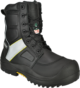 "Men's Baffin 8"" Composite Toe Insulated Metal Free Work Boot IREB-MP04-BK2"