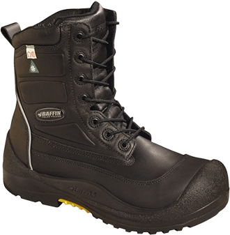 "Men's Baffin 8"" Composite Toe Insulated Metal Free Work Boot IREB-MP03-BK1"